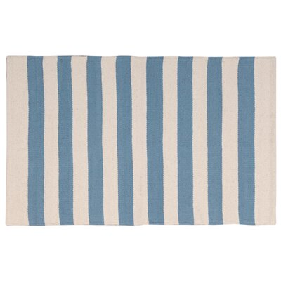 Ellsberg Doormat Color: Blue, Mat Size: Rectangle 17 x 210