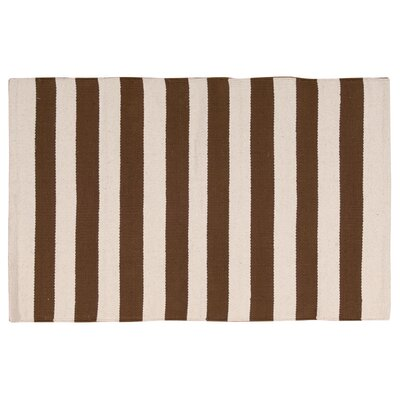 Ellsberg Doormat Color: Brown, Mat Size: Rectangle 17 x 210