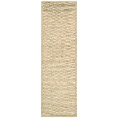 Whalton Hand-Knotted Wool Ivory Area Rug Rug Size: Rectangle 2 x 3