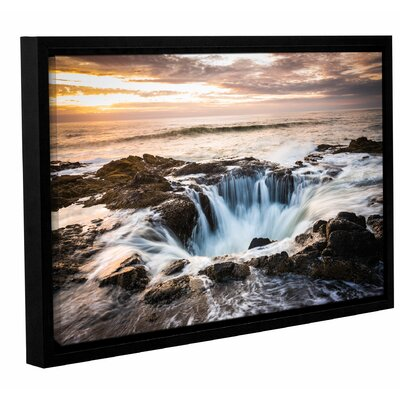 'Thors Well' by Cody York Framed Photographic Print on Wrapped Canvas