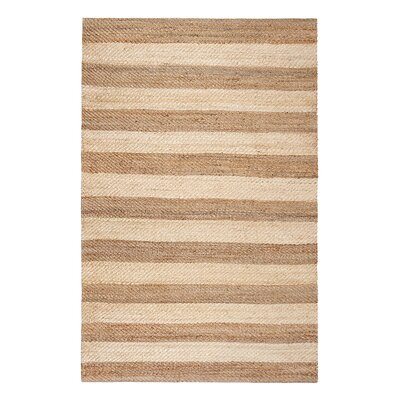 Breakwater Bay Southchase Hand-Woven Ivory Area Rug