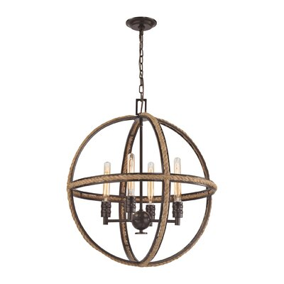 Breakwater Bay Maitland 4 Light Candle-Style Chandelier