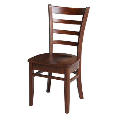 Bloomfield Solid Wood Dining Chair Color: Espresso