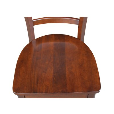 Bloomfield Solid Wood Dining Chair Finish: Espresso