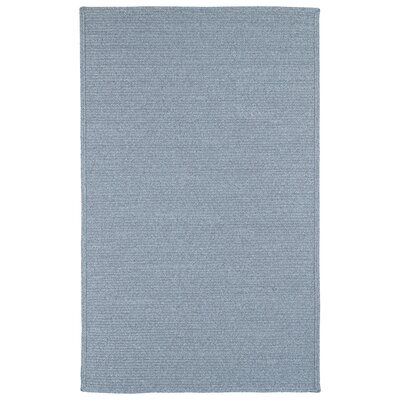 Dunbar Azure Indoor/Outdoor Area Rug Rug Size: Rectangle 9 x 12
