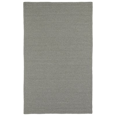 Harwich Pewter Indoor/Outdoor Area Rug Rug Size: 3 x 5