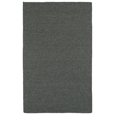 Dunbar Charcoal Indoor/Outdoor Area Rug Rug Size: 8 x 11