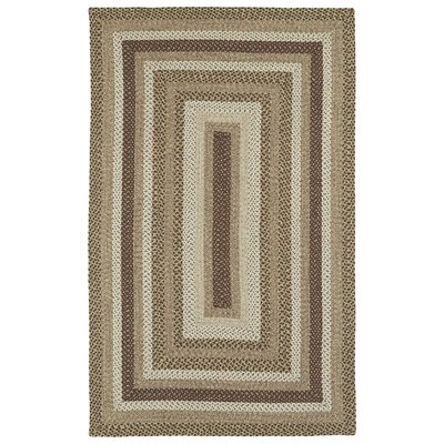 Partridge Mocha Indoor/Outdoor Area Rug Rug Size: 2 x 3