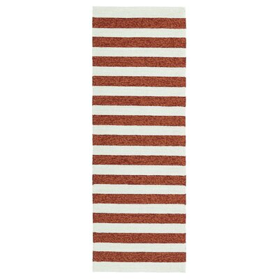 Suffield Paprika Indoor/Outdoor Area Rug Rug Size: Runner 2 x 6