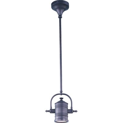 Rushmore 1-Light Pendant/Wall Sconce/Semi-Flush