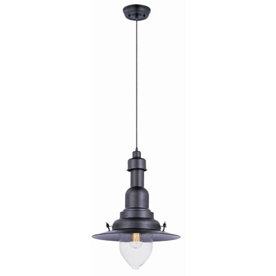 Rushmore 1-Light Pendant Finish: Bronze