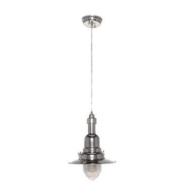 Rushmore 1-Light Pendant Finish: Polished Nickel
