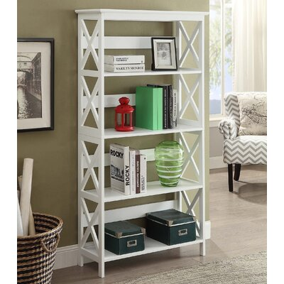Washington 5 Tier 60 Etagere Bookcase