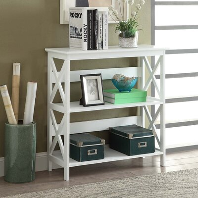 Washington 33 Etagere Bookcase FInish: White