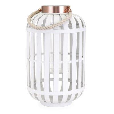 Wood Lantern Size: Large