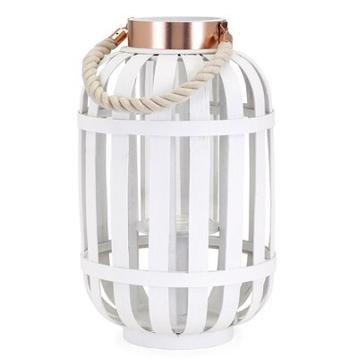 Wood Lantern Size: Small