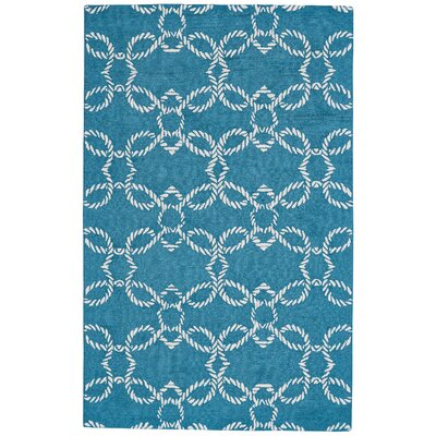 Quayside Hand-Tufted Pacific Indoor/Outdoor Area Rug Rug Size: Rectangle 9 x 13