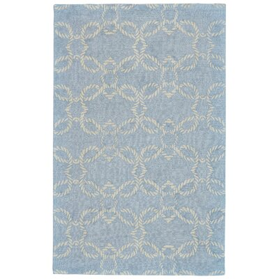 Quayside Hand-Tufted Glacier Indoor/Outdoor Area Rug Rug Size: 5 x 8