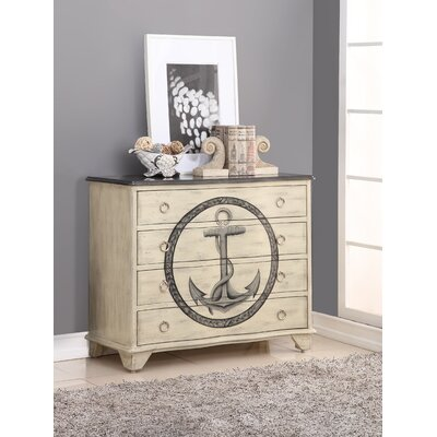 Lisbon 4 Drawer Standard Dresser
