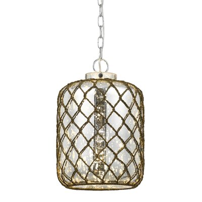 Seidenberg 1-Light Drum Pendant