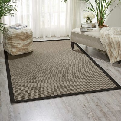 Seacor Gray Indoor/Outdoor Area Rug Rug Size: 5 x 8