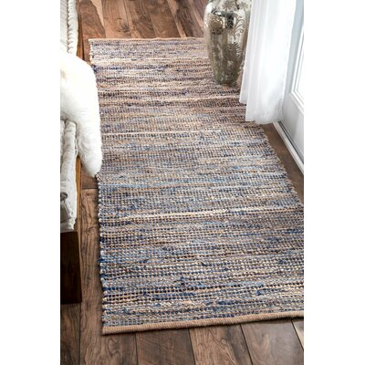 Cape Elizabeth Natural Area Rug Rug Size: Runner 26 x 8