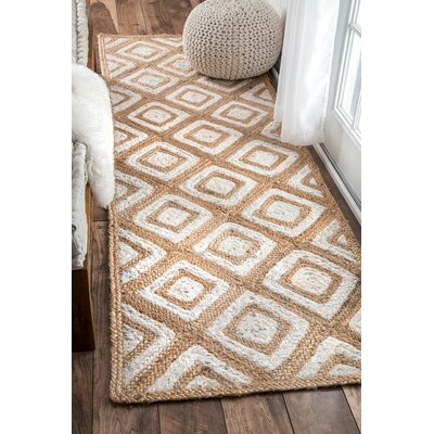 Skowhegan Beige/Bleached Area Rug Rug Size: Rectangle 5 x 8