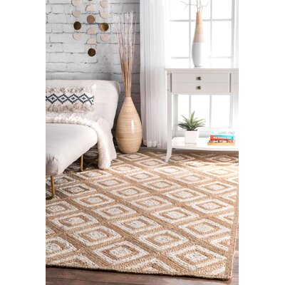 Breakwater Bay Skowhegan Beige Area Rug