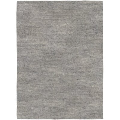 Bayside Hand-Woven Gray Area Rug Rug Size: Rectangle 96 x 136