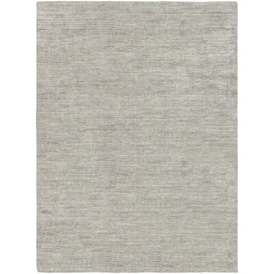 Bayside Hand-Woven Black/Gray Area Rug Rug Size: Runner 23 x 71