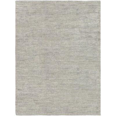Bayside Hand-Woven Black/Gray Area Rug Rug Size: Runner 23 x 71