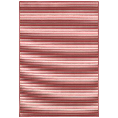Thompson Red Area Rug Rug Size: Runner 23 x 119
