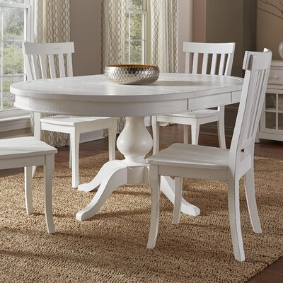 Flanders Round to Oval Extendable Dining Table