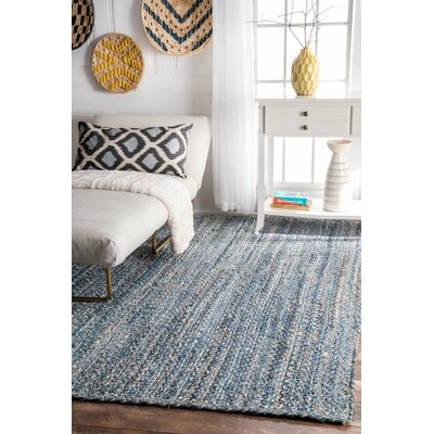 North Waterboro Blue Area Rug Rug Size: 5 x 8