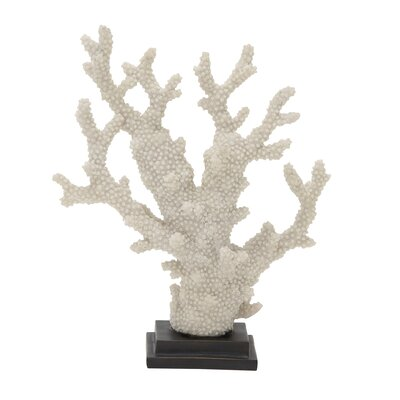 White Polystyrene Coral Sculpture