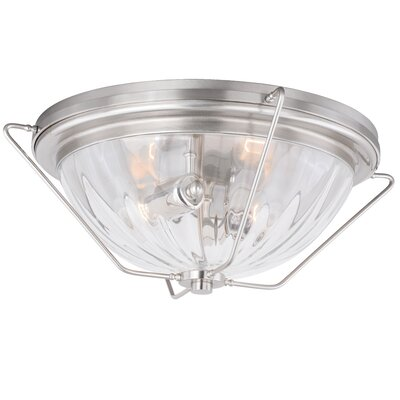 Portage 2-Light Flush Mount