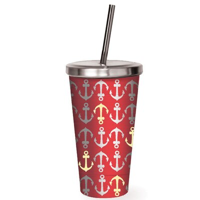 Freeport Anchors Away Stainless Steel 16 oz. Insulated Tumbler BRWT8116 34945830