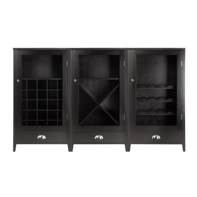 Pinellas Park 70 Bottle Floor Wine Cabinet