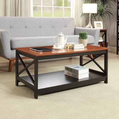 Stoneford Coffee Table Color: Cherry