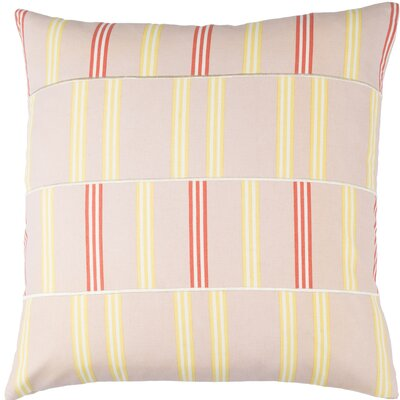 Watson Cotton Throw Pillow Size: 18