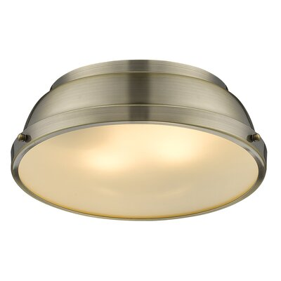Bodalla 2-Light Bowl Flush Mount