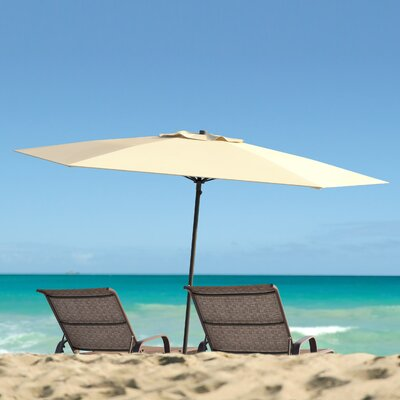 Smithmill 7.5 Deluxe Beach Umbrella Fabric: Warm White