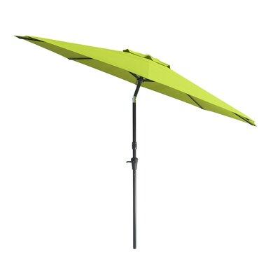10 Markley Deluxe Tilting Patio Cantilever Umbrella Fabric: Lime Green