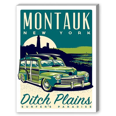 Montauk Woody Vintage Advertisement