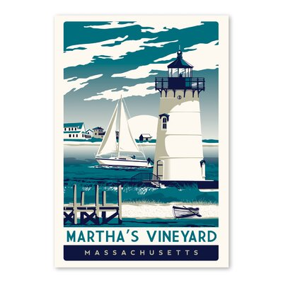 Martha's Vineyard Vintage Advertisement