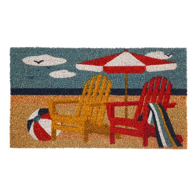 Monterry Adirondack Chairs Coir Doormat