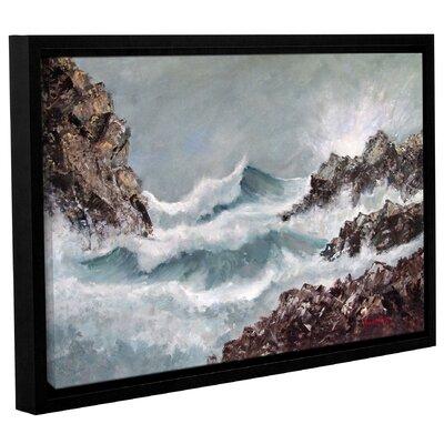 'Seascape' Framed Print Size: 12