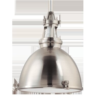 Pullman 1-Light Pendant Finish: Satin Nickel