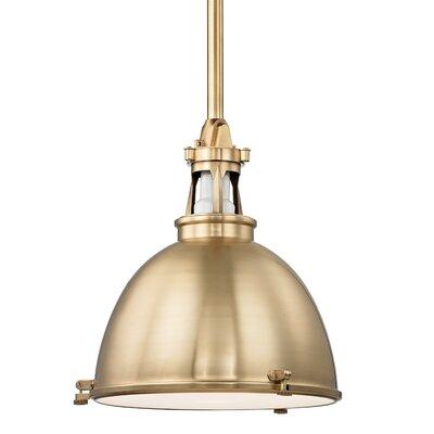 Pullman 1-Light Pendant Finish: Aged Brass