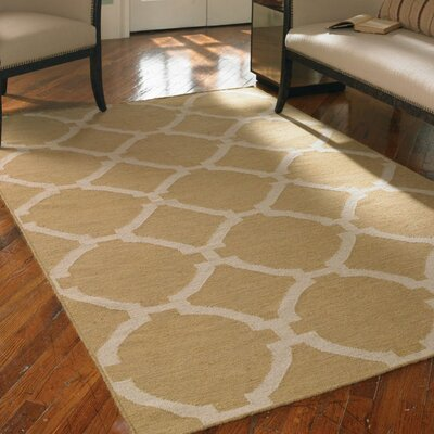 Larchwood Wheat Area Rug Rug Size: Rectangle 8 x 10